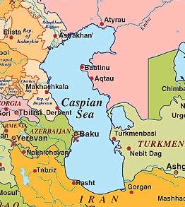 Encyclopédie de L'Agora | Caspienne (mer)