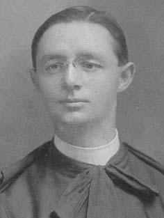 Lionel Groulx, à l'époque où il enseignait au Collège de Valleyfield (1900-1915). Collection personnelle de S. Stapinsky